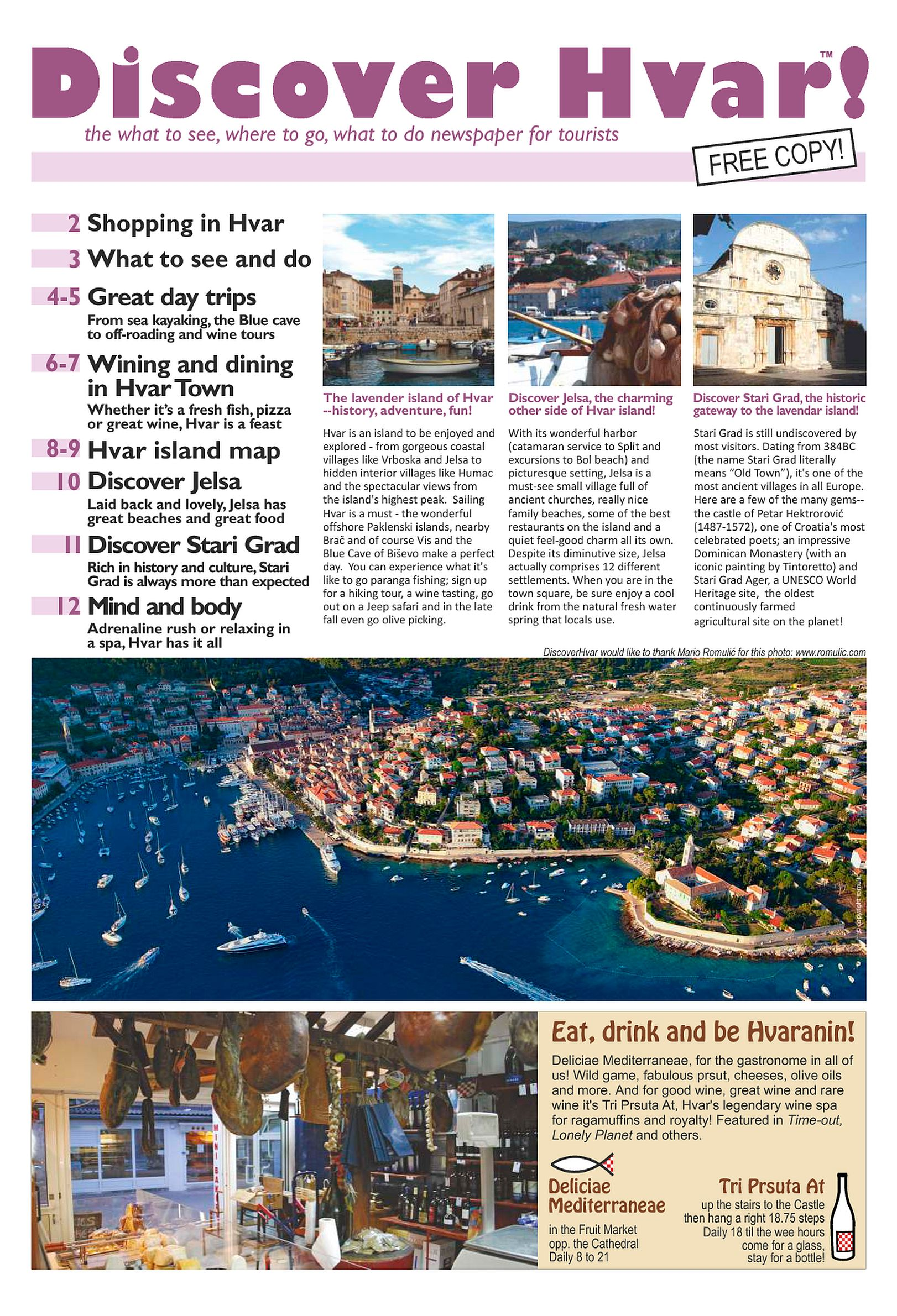 Discover Hvar Newspaper