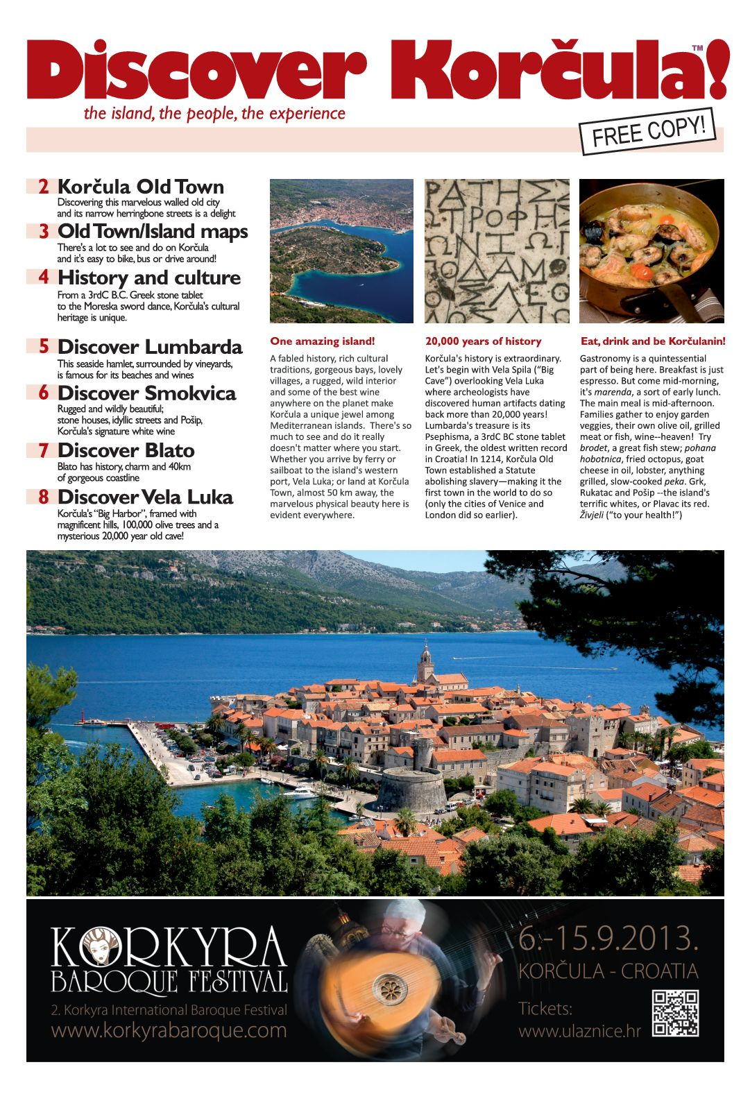 Discover Korcula Newspaper